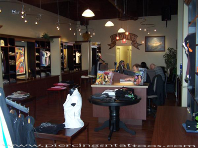 Artnbody tattoo studio interior