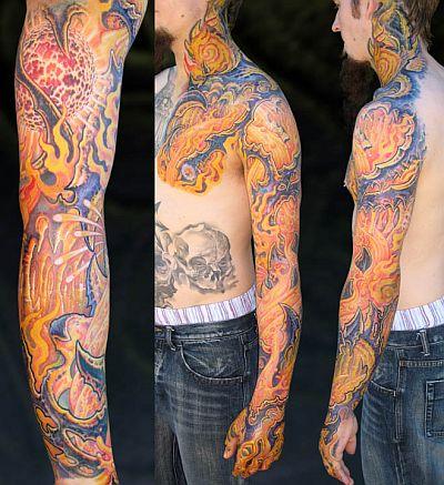 Guy Aitchinson's Arm Tattoo