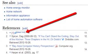 Wikipedia Dead Link SEO