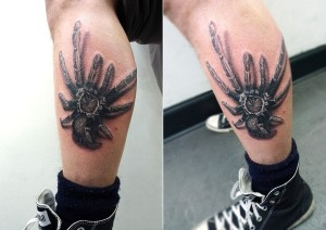 Creepy Tarantula Tattoo