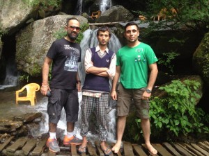 Dharma Thankur Zana Falls