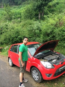 Kunal sir car