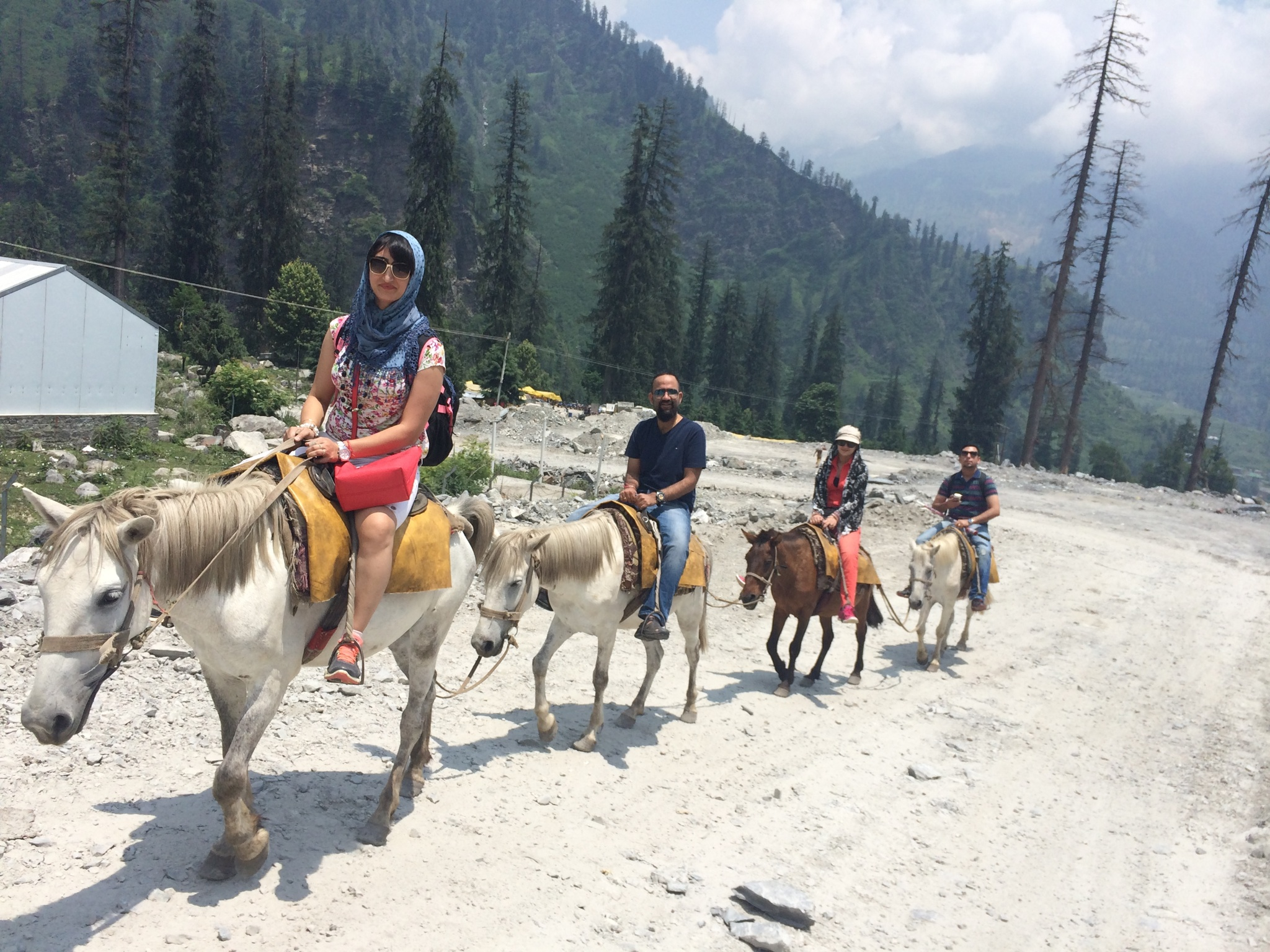 horse riding angani mahadev