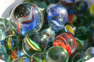 Glass marbles Bante