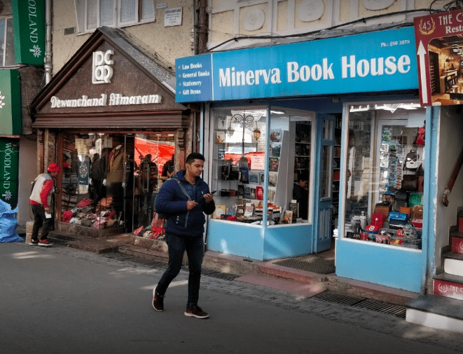 Minerva Book House Shimla