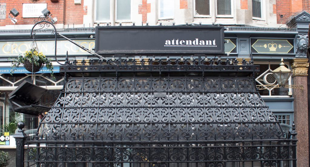 the attendant cafe