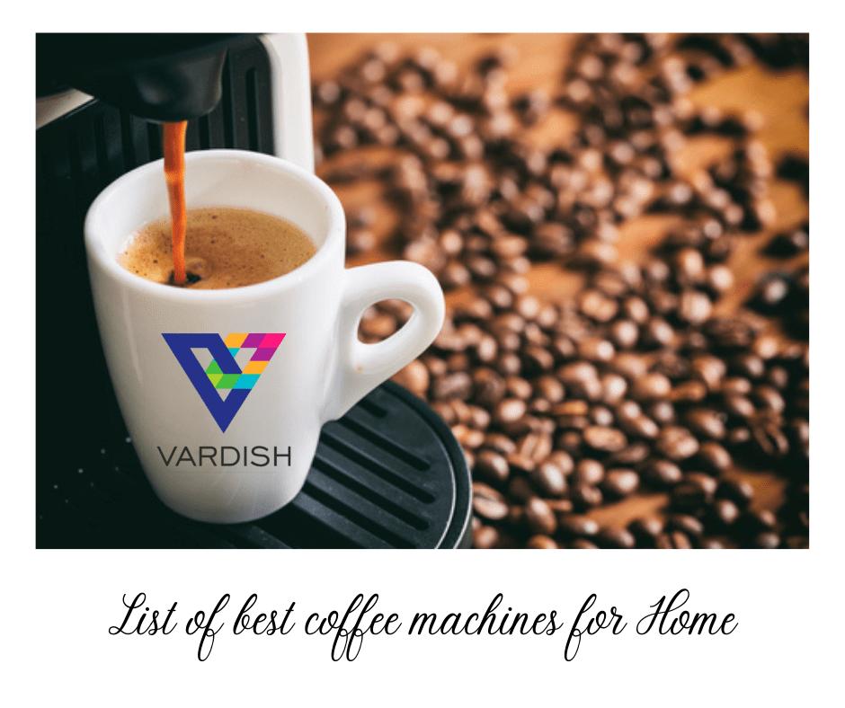 Coffee Machine Home
